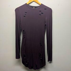 REVAMPED Purple Long Sleeve Top